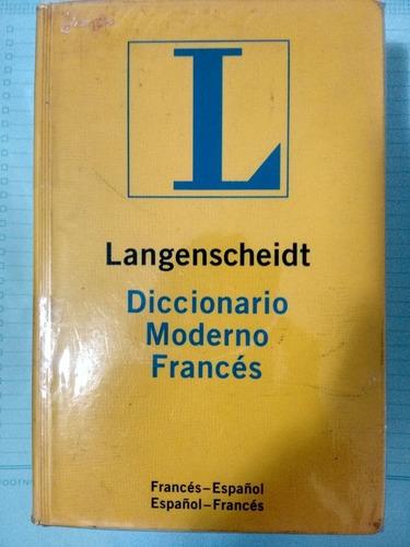 Diccionario Moderno Francés-español Langenscheidt