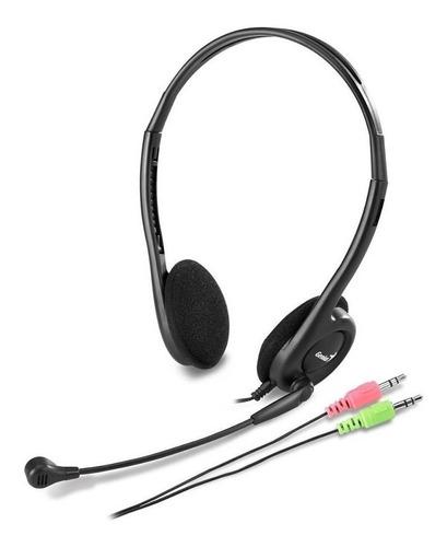 Auricular Con Microfono Genius Hs-200c Vincha Notebook/celu
