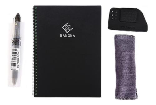 Cuaderno De Tapa Dura Inteligente Reutilizable