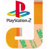 Cabo Flat Flex J Leitor Playstation 2 Ps2 Slim 90006 90010