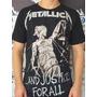 Camiseta Banda Metallica ..and Justice For All Original