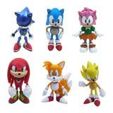 Figuras De Sonic (set 6 Piezas) 5,5cm