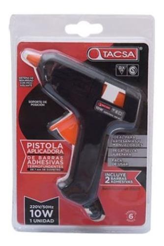Pistola Hot Melt Para Barras Adhesivas 10w. Incuye Barra