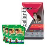 Alimento Excellent Maintenance Formula Para Perro Adulto Todos Los Tamaños Sabor Mix En Bolsa De 20kg