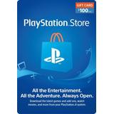 Tarjeta Playstation Network 100 Psn Usa Ps4 Ps3 | Mvd Store