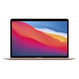Macbook Air A2337 Gold 13.3 , Apple M1  8gb De Ram 256gb Ssd, Apple Gpu 2560x1600px Macos X 10.14