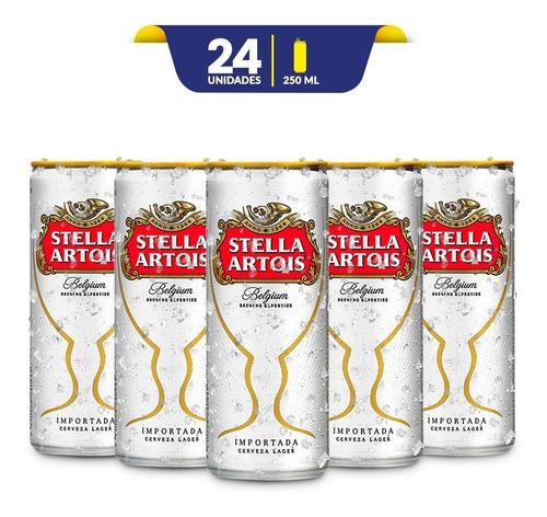 Cerveza Premium Stella Artois, 24 Latas De 250ml