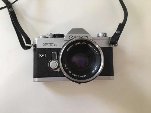Cámara Analógica Canon Ftb Lente Original 50mm 1.8
