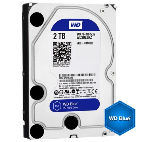 Disco Rígido 2tb Hd Pc 3.5  Western Digital 2 Tb Blue Sata 3