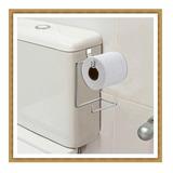 Papeleira Suporte Porta Papel Higiênico Para Caixa Descarga*