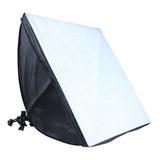 Set  Fotografía E Iluminación Softbox 50x70