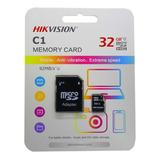 Memoria Micro Sd 32gb Hikvision C10 92 Mb/s 5 Años Gtia Tbx