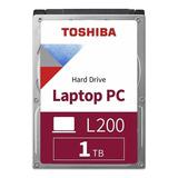 Disco Duro Interno Toshiba L200 Hdwl110uzsva 1tb Plata