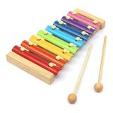 Xilofon Grande 8 Notas Niños Musica Estimulacion Didactico