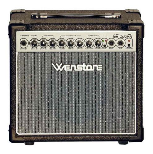Amplificador Guitarra Electrica Wenstone Ge-200fx 8  20 Watt