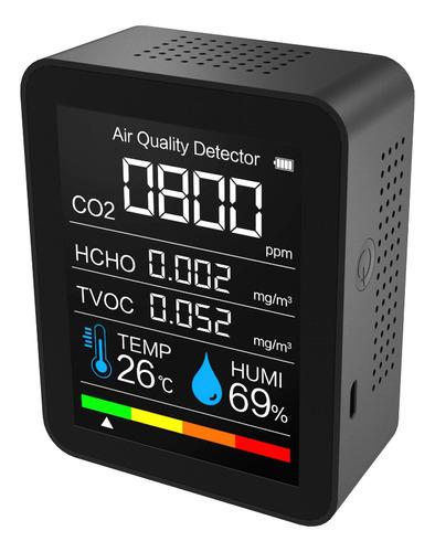 Detector De Co2 Portátil Detector De Calidad Del Aire Inteli