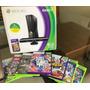Xbox 360 Seminovo Com Kinect + 7 Jogos Original