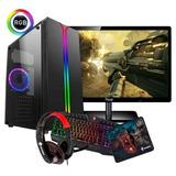 Pc Gamer Completo I5 16gb 1tb Monitor + Kit Gamer Full Hd