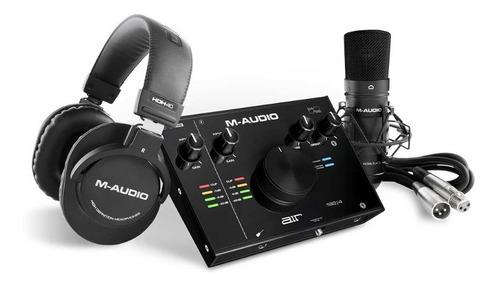 Kit Interfaz De M Audio Air192x4s Pro Pack Grabacion Usb C