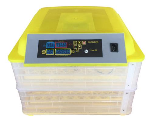 Incubadora 96 Huevos Volteo Automatico Hatcher Control Tapa