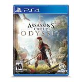 Assassins Creed Odyssey Formato Físico Ps4 Original