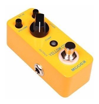 Pedal Efectos Mooer Mcs1 Yellow Compressor