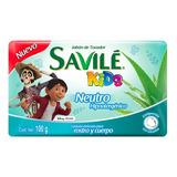 Savile Kids Jabón En Barra Neutro Individual 100g