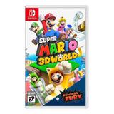 Super Mario 3d World + Bowsers Fury Nintendo Switch Físico