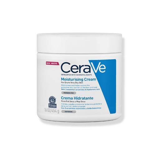 Crema Hidratante Cerave 454 G Para Piel Seca A Muy Seca