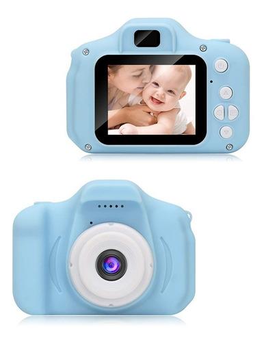 Mini Camara Digital Infantil 2.0 + Tarjeta De Memoria 32gb