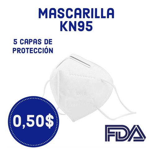 Mascarillas, Tapabocas Kn95 De Liga Paquete 10 Unidades