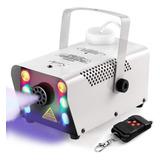 Maquina De Humo Con Luz Led Control Inalambrico Dmx Niebla