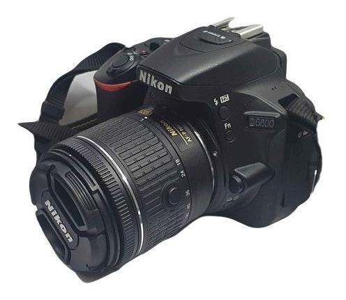 Nikon D5600 Lente 18-55mm Vr Kit Dslr Regalo Memoria 32gb