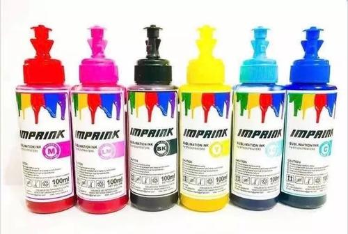Pack 4 Tintas Sublimacion Premium Epson Con Envio Incluido