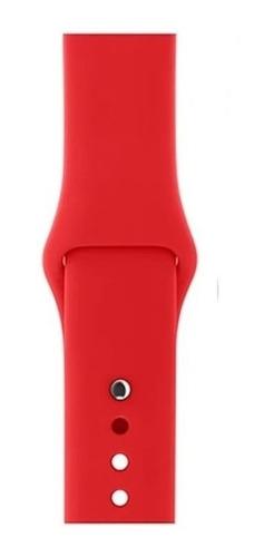 Correa Para Apple Watch Silicona Todas Tallas Series Colores