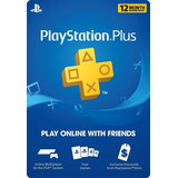 Playstation Plus 1 Año Psn Ps4 Plus 12 Meses Ps4 Ps3 Psvita