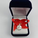 Medalla De Plata De San Benito Para Bebé