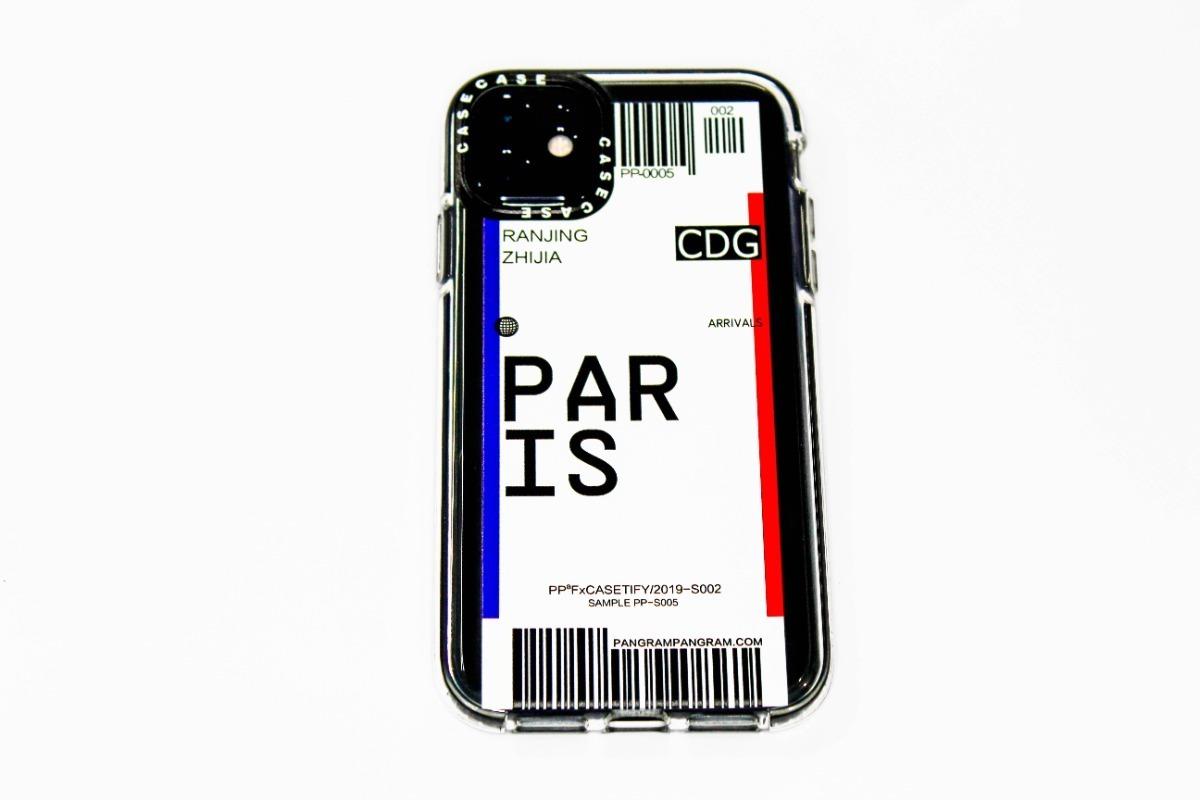 FUNDA TICKET PARIS IPHONE 12 MINI