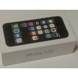 Caja De iPhone 5s 16 Gb, Con Cable Y Extractor De Sim