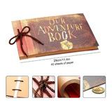 Album Para Fotos 40 Hojas - Our Adventure Book - Versión 3d