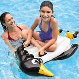 Inflable Montable Pingüino Intex Para Alberca