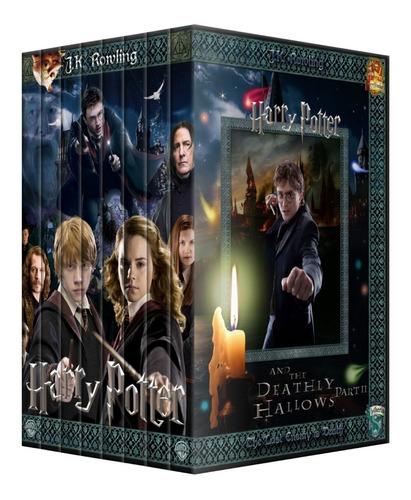 Harry Potter Colección Completa Dvd - Saga Completa Latino