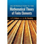 An Introduction To The Mathematical Theory Of Finite Element Original