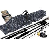 Bolso Mochila Para Cañas De Pescar Y Sus Accesorios 1.50mts