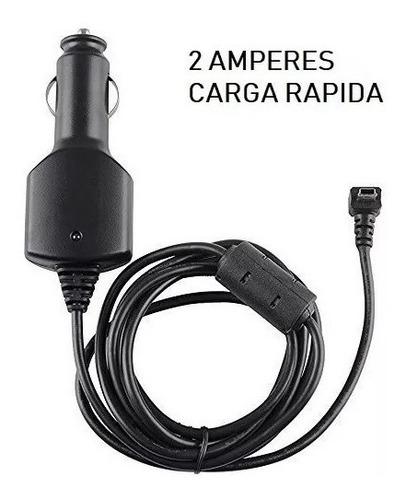 Cargador Para Gps Garmin Nuvi Auto 12v Led Azul 2 Amper Full