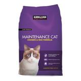 Alimento Kirkland Signature Super Premium Maintenance Cat Para Gato Adulto Sabor Pollo Y Arroz En Bolsa De 25lb