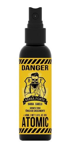 Tónico De Crecimiento Atomic Danger Barba Forte 45ml