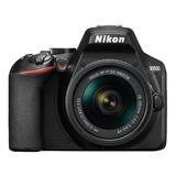 Nikon Kit D3500 + Lente 18-55mm Vr Dslr Cor  Preto