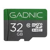 Tarjeta De Memoria Gadnic Mem00016 Con Adaptador Sd 32gb