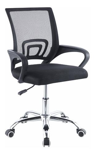 Silla De Oficina Color Negro - Begônia